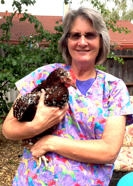 Dr. Karen and Chicken Friend